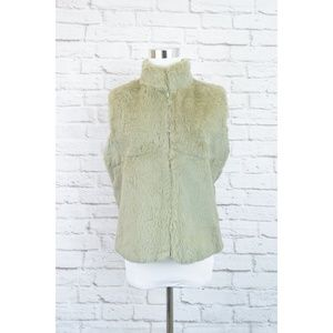 100% Rabbit Fur Zipper Vest Pablo by Gerard Darel